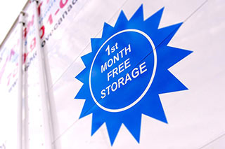 Free Storage for the 1st Month
