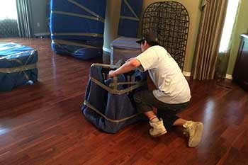 Let our experts take care of the packing, wrapping, and crating of your furniture and fragile items.