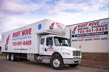 Our moving company is ready to move you in Calmar, Edmonton, throughout Alberta, across Canada, or around the World.