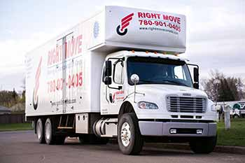 Edmonton Moving Company - Long Distance Truck
